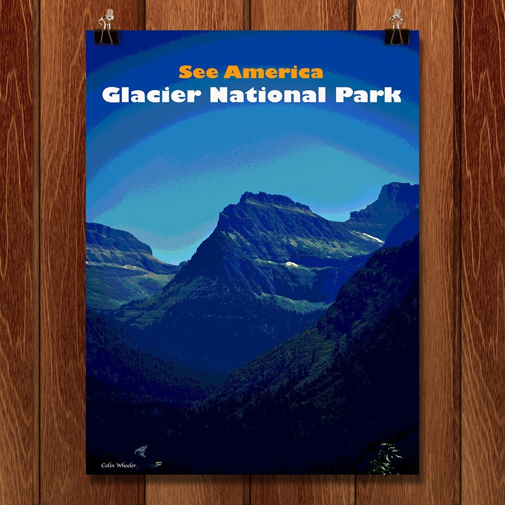 Glacier National Park by Colin Wheeler for See America - 1