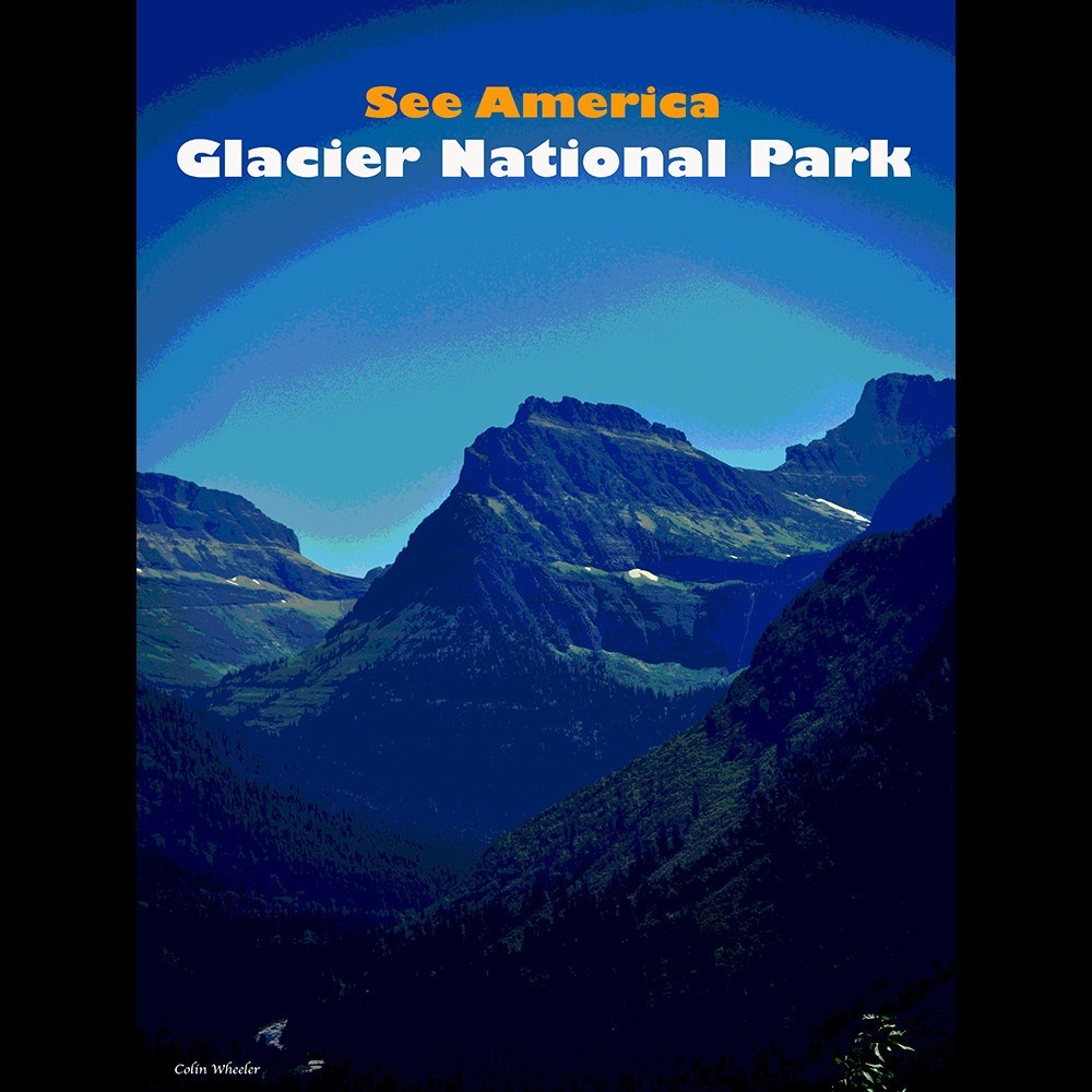 Glacier National Park by Colin Wheeler for See America - 3