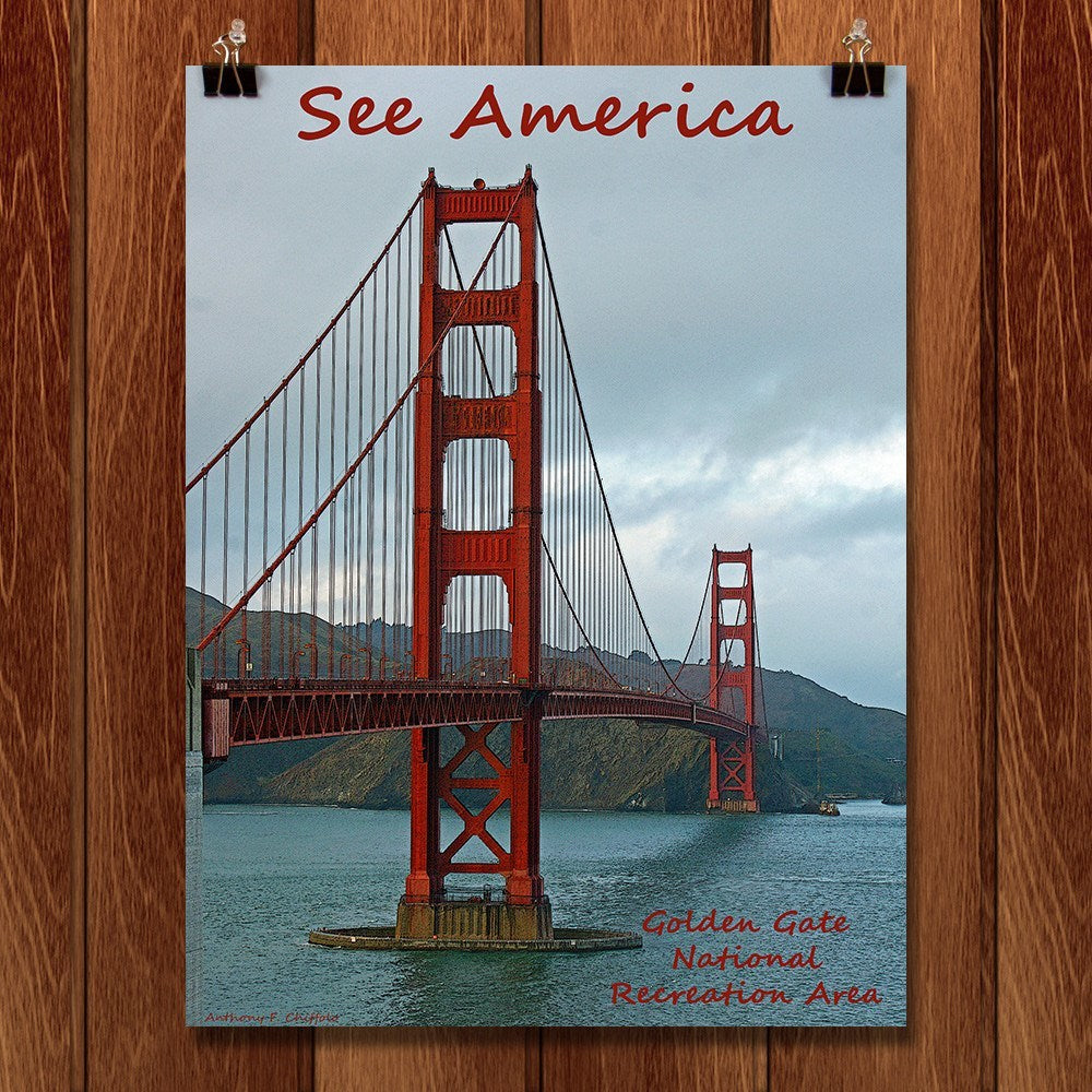 Golden Gate National Recreation Area by Anthony Chiffolo for See America - 1