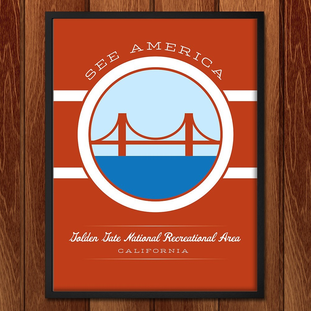 Golden Gate National Recreation Area by Brandon Kish for See America - 2