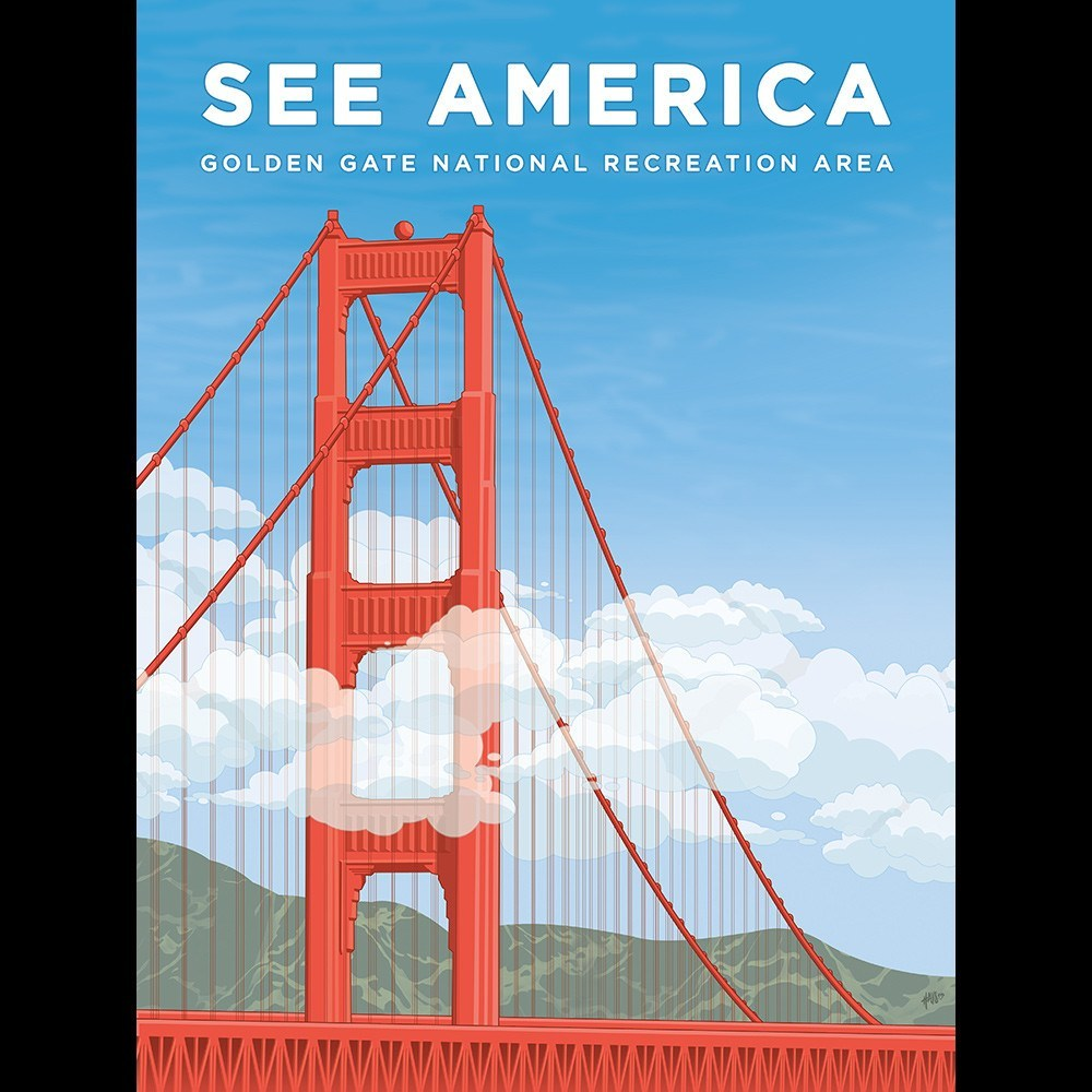 Golden Gate National Recreation Area by David Hays for See America - 3