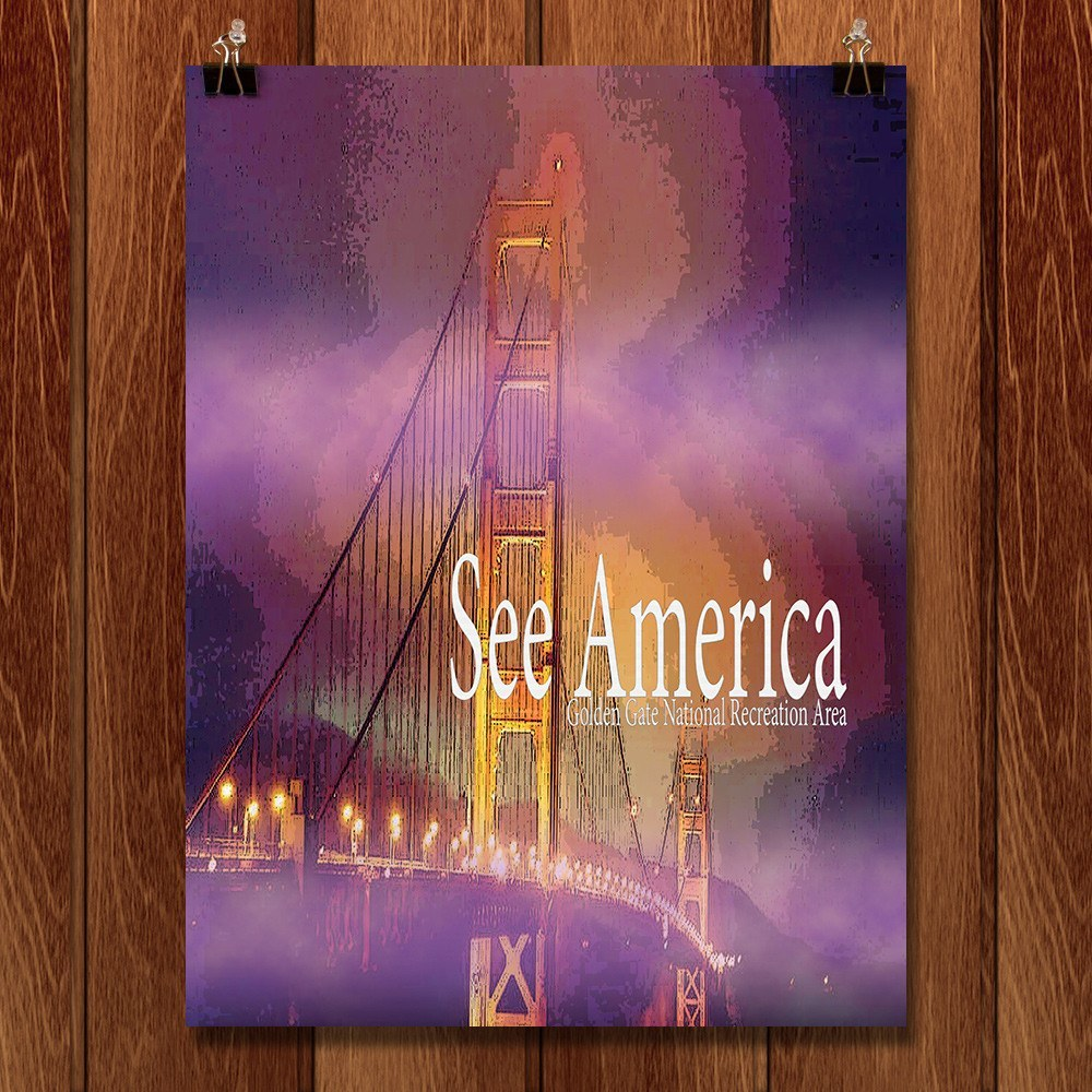 Golden Gate National Recreation Area by Sierranne for See America - 1