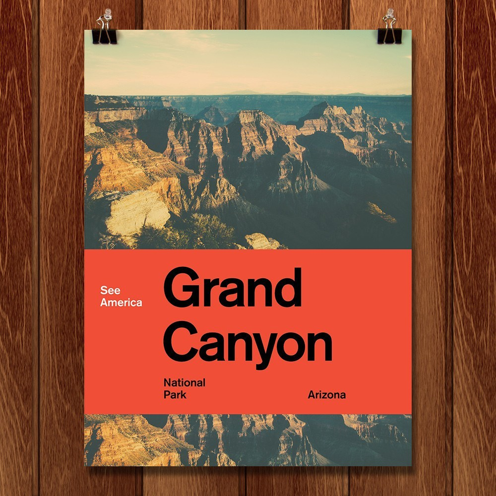 Grand Canyon National Park 2 by Brandon Kish for See America - 1