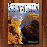 Grand Canyon National Park by Rendall M. Seely for See America - 1