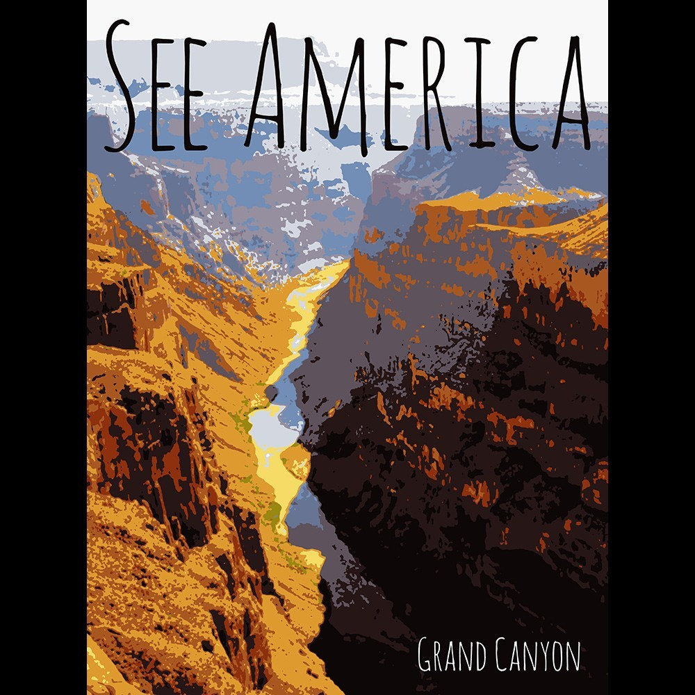 Grand Canyon National Park by Rendall M. Seely for See America - 3