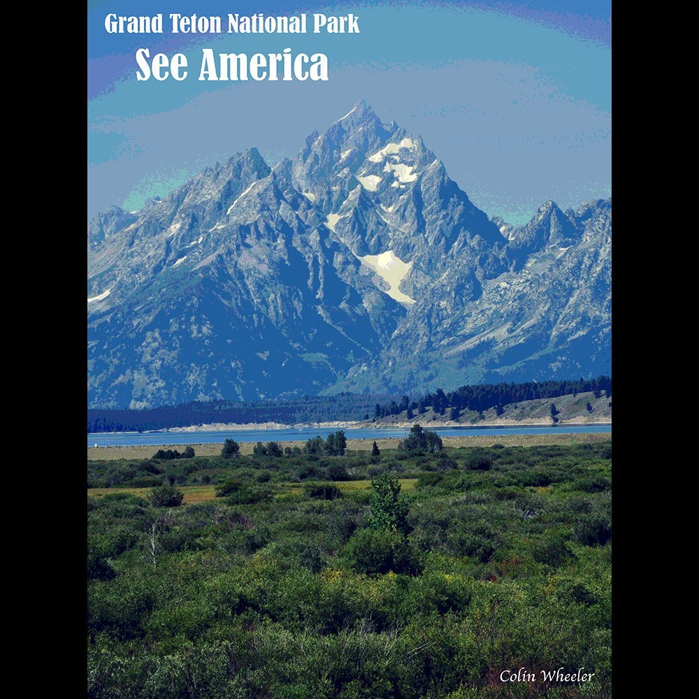 Grand Teton National Park by Colin Wheeler for See America - 3