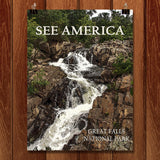 Great Falls National Park by Marcia Brandes for See America - 1