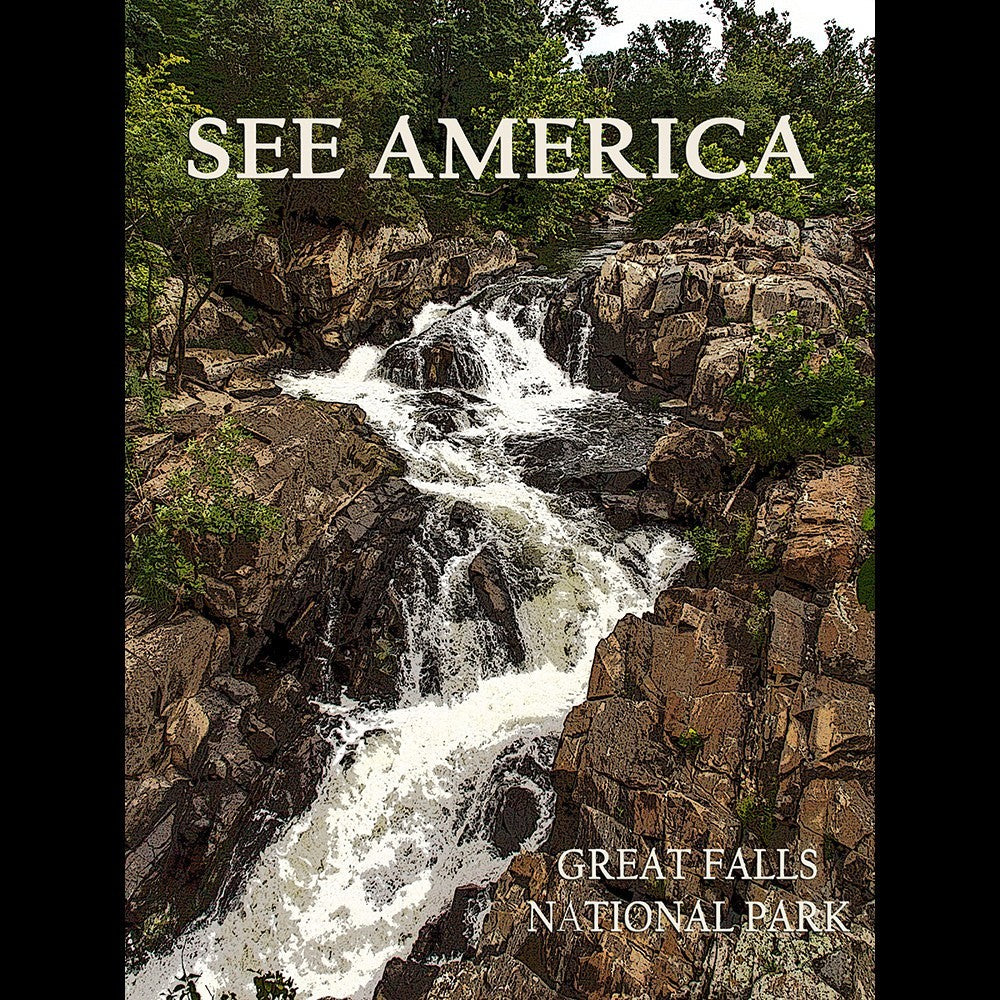 Great Falls National Park by Marcia Brandes for See America - 3