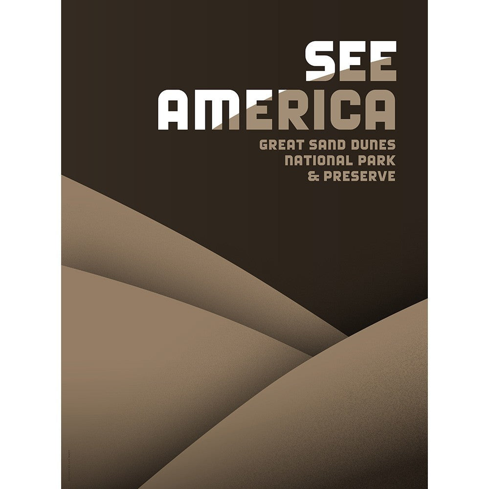 Great Sand Dunes National Park and Preserve by Luis Prado for See America - 3