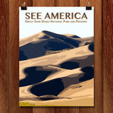 Great Sand Dunes National Park and Preserve by Zack Frank for See America - 1
