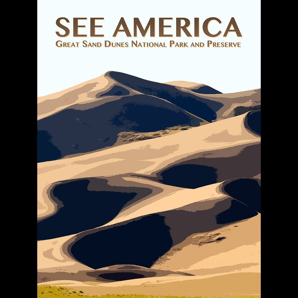 Great Sand Dunes National Park and Preserve by Zack Frank for See America - 3