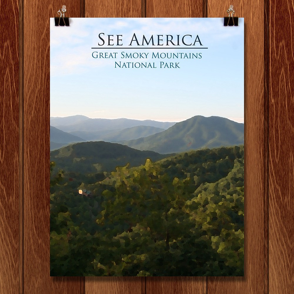 Great Smoky Mountains National Park by D.G. Thompson for See America - 1
