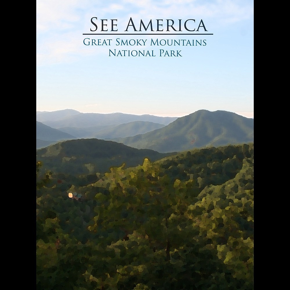 Great Smoky Mountains National Park by D.G. Thompson for See America - 3