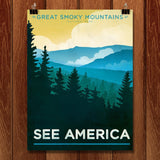 Great Smoky Mountains National Park by Jon Cain for See America - 1