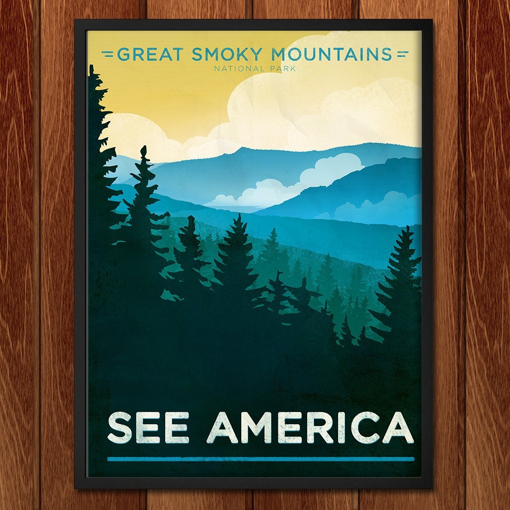 Great Smoky Mountains National Park by Jon Cain for See America - 2