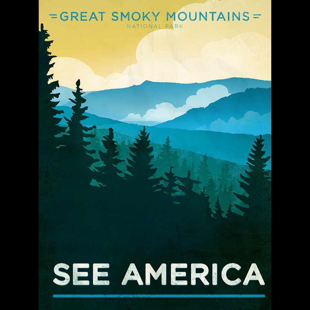 Great Smoky Mountains National Park by Jon Cain for See America - 3