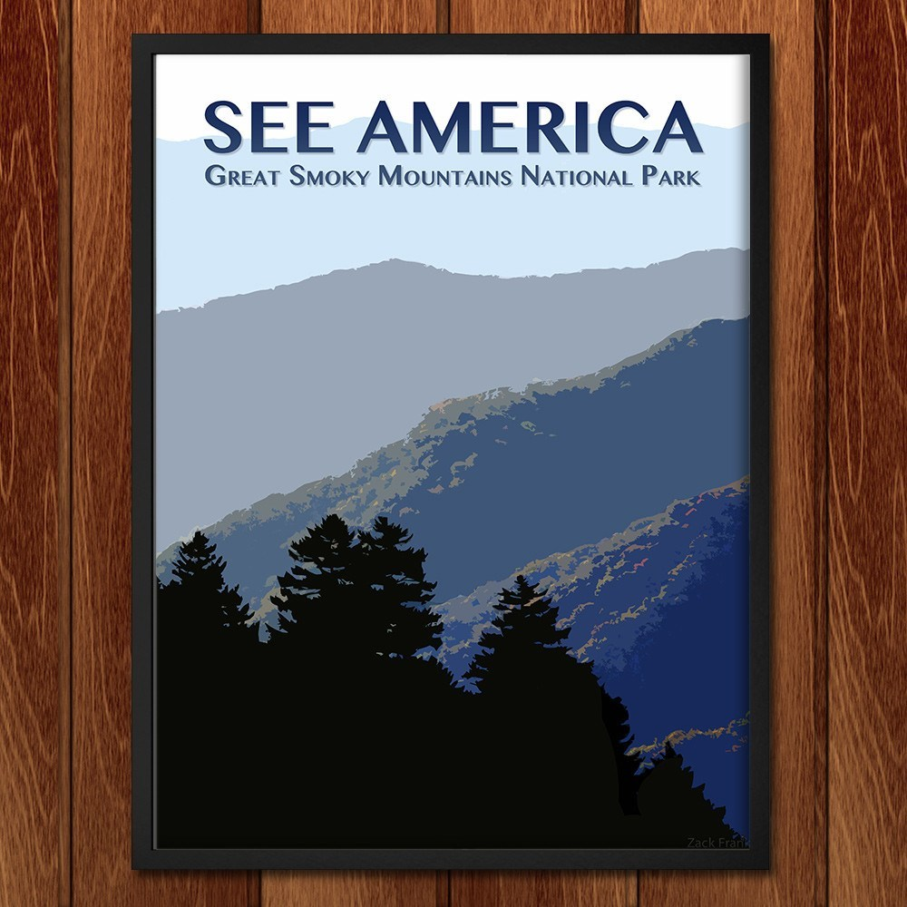 Great Smoky Mountains National Park by Zack Frank for See America - 2
