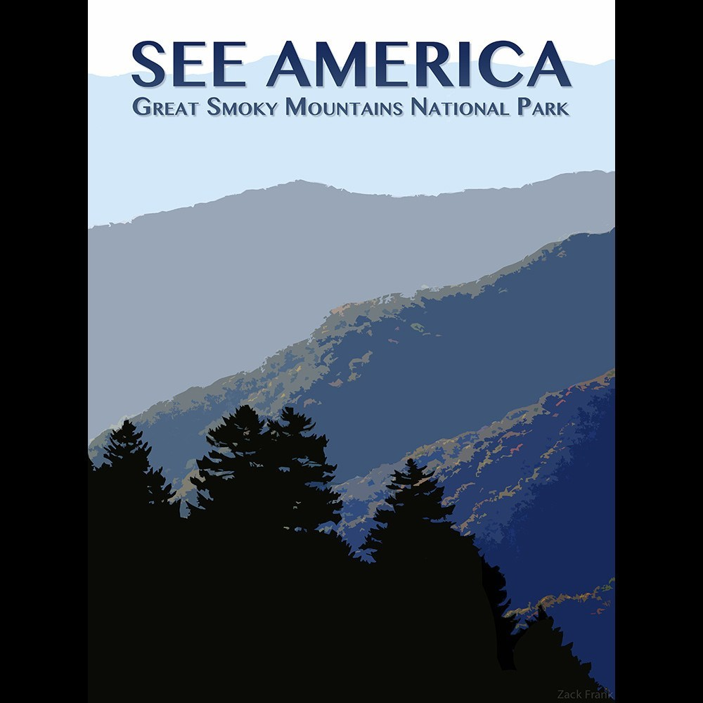 Great Smoky Mountains National Park by Zack Frank for See America - 3