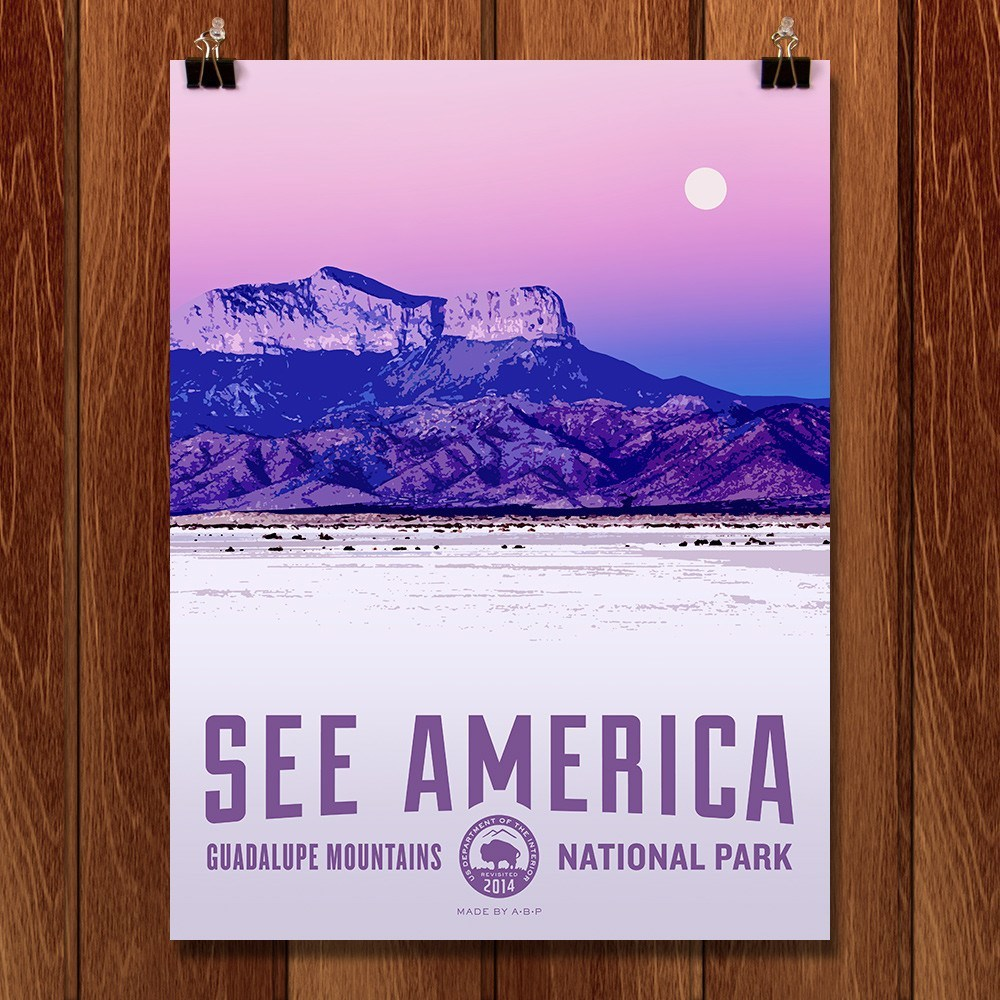 Guadalupe Mountains National Park by Aaron Bates for See America - 1