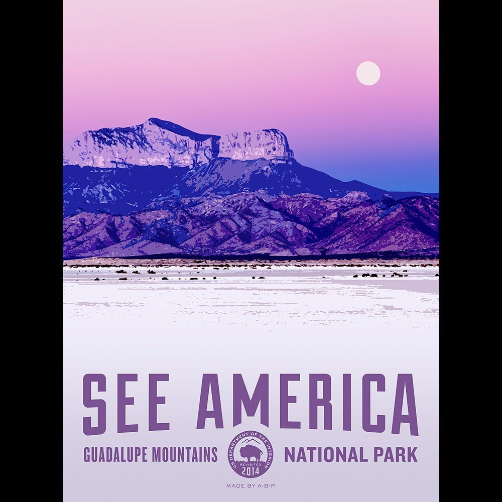 Guadalupe Mountains National Park by Aaron Bates for See America - 3
