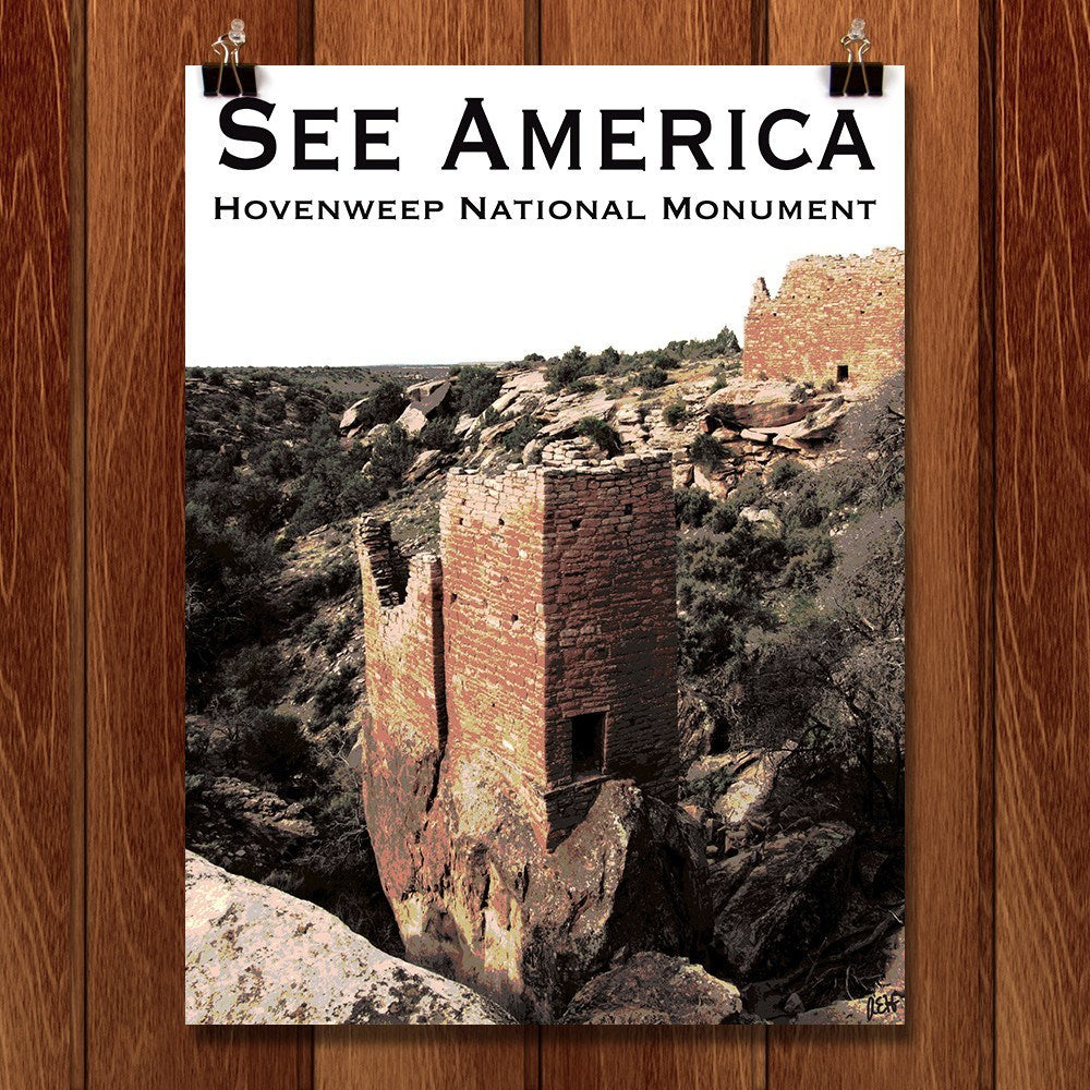 Hovenweep National Monument by Ann Huston for See America - 1