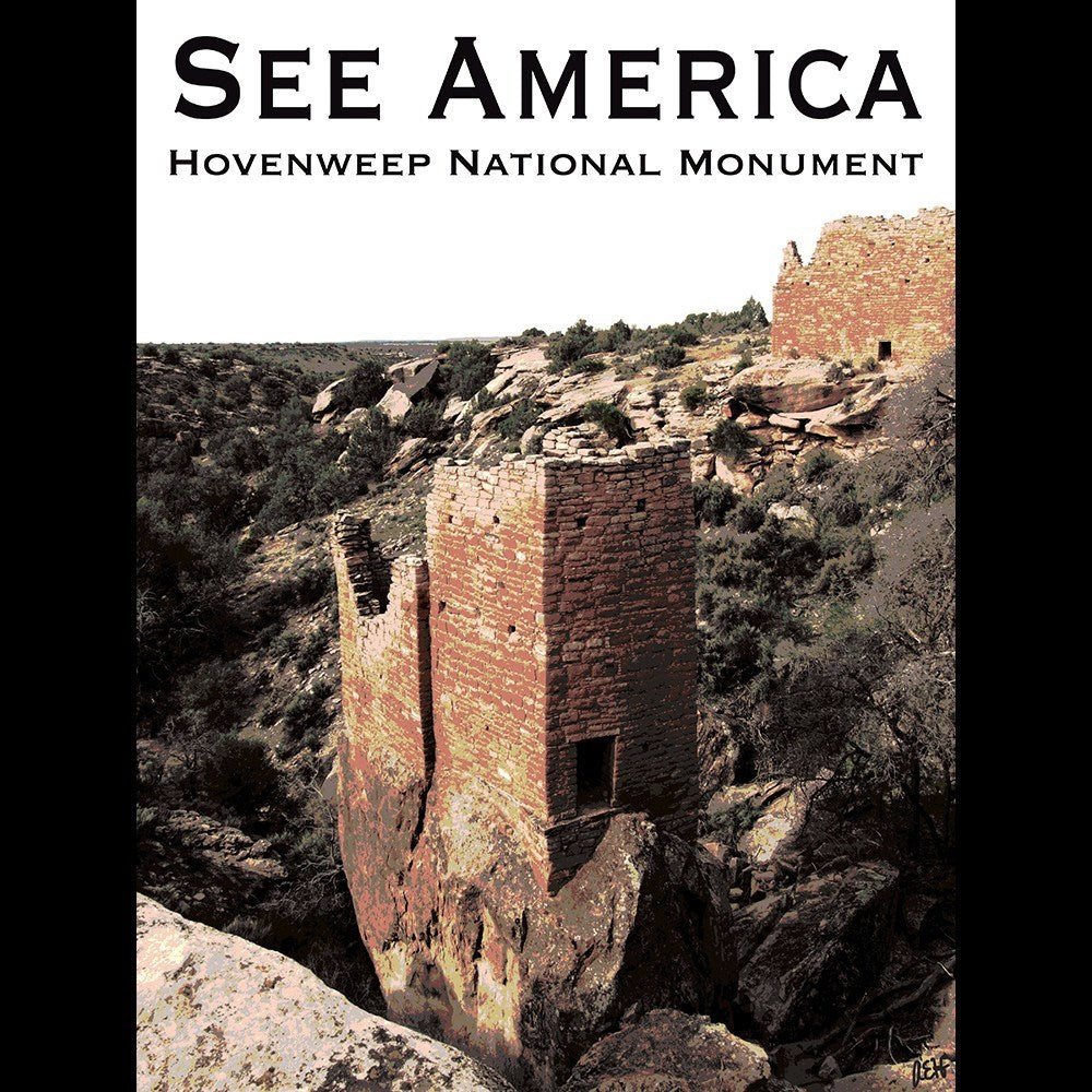 Hovenweep National Monument by Ann Huston for See America - 3