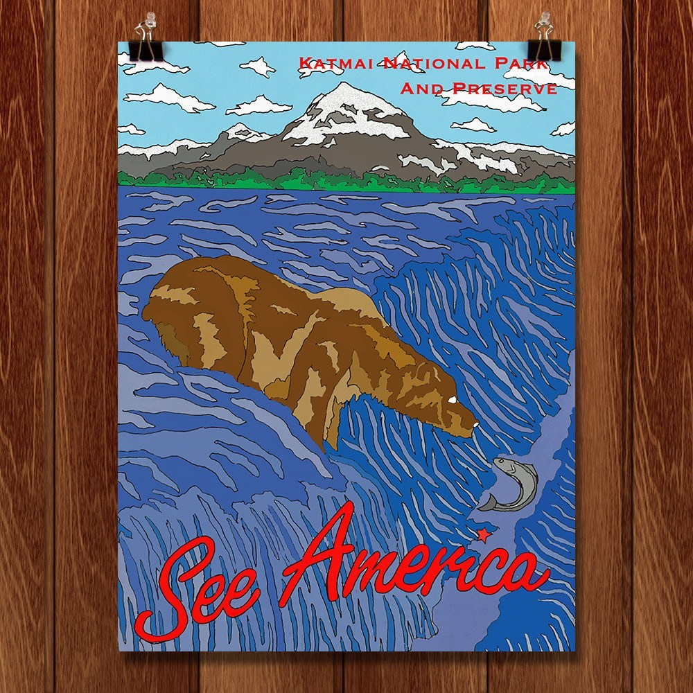 Katmai National Park and Preserve by Joshua Sierra for See America - 1