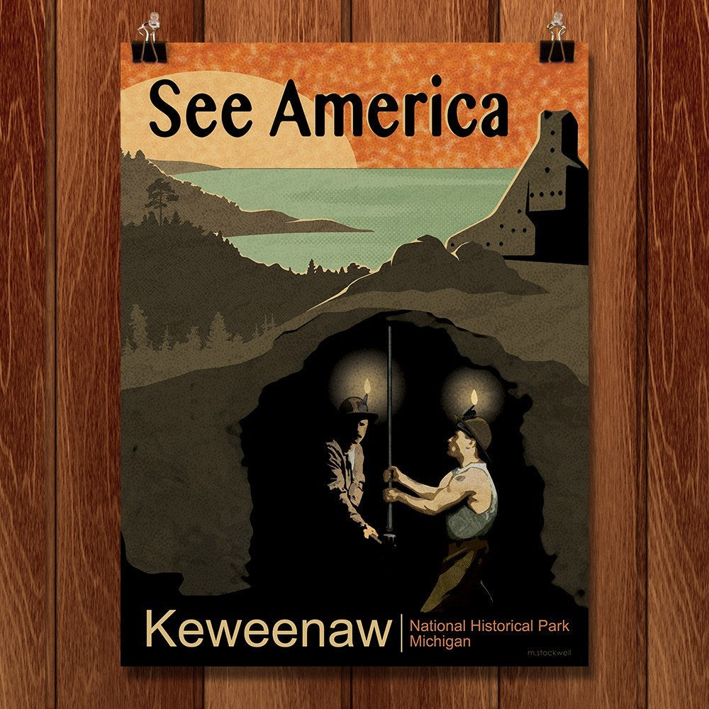 Keweenaw National Historical Park by Mike Stockwell for See America - 1