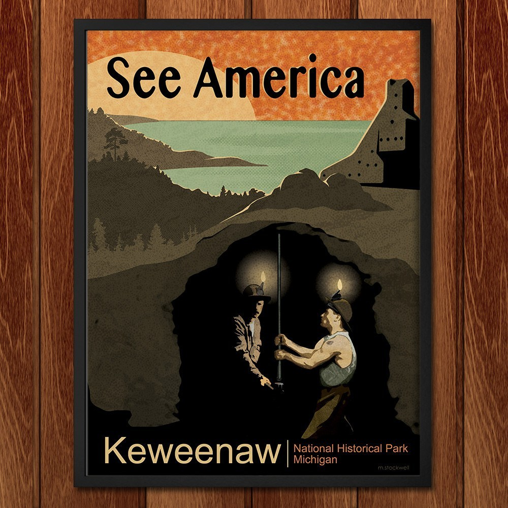 Keweenaw National Historical Park by Mike Stockwell for See America - 2