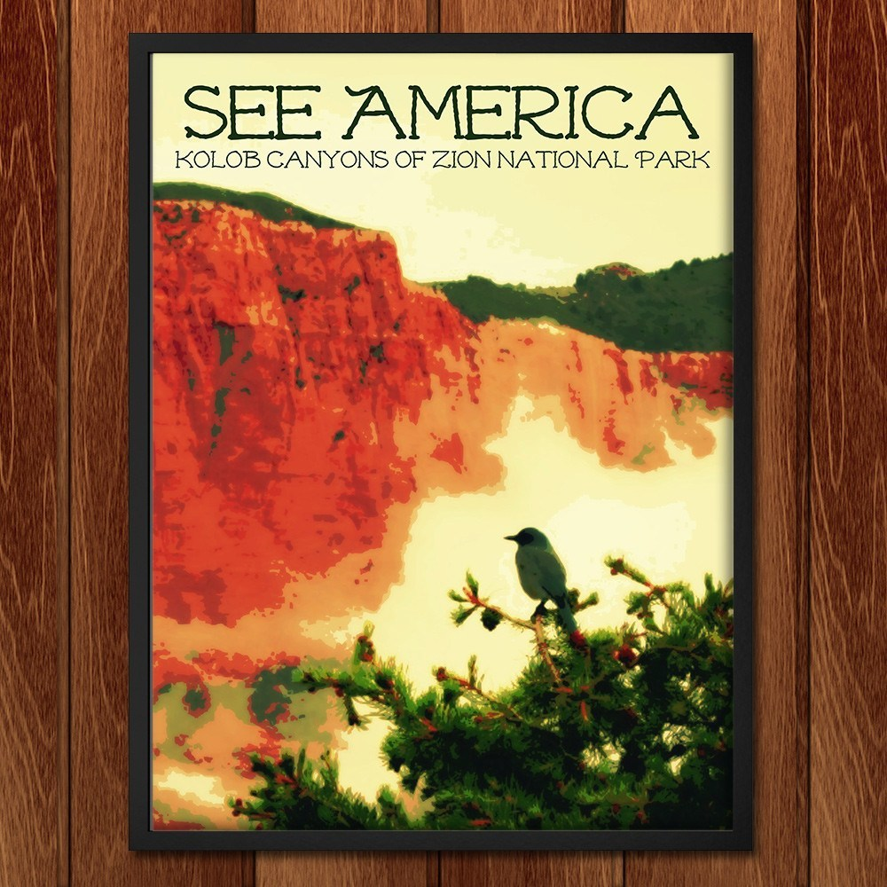 Kolob Canyons, Zion National Park by Rendall M. Seely for See America - 2