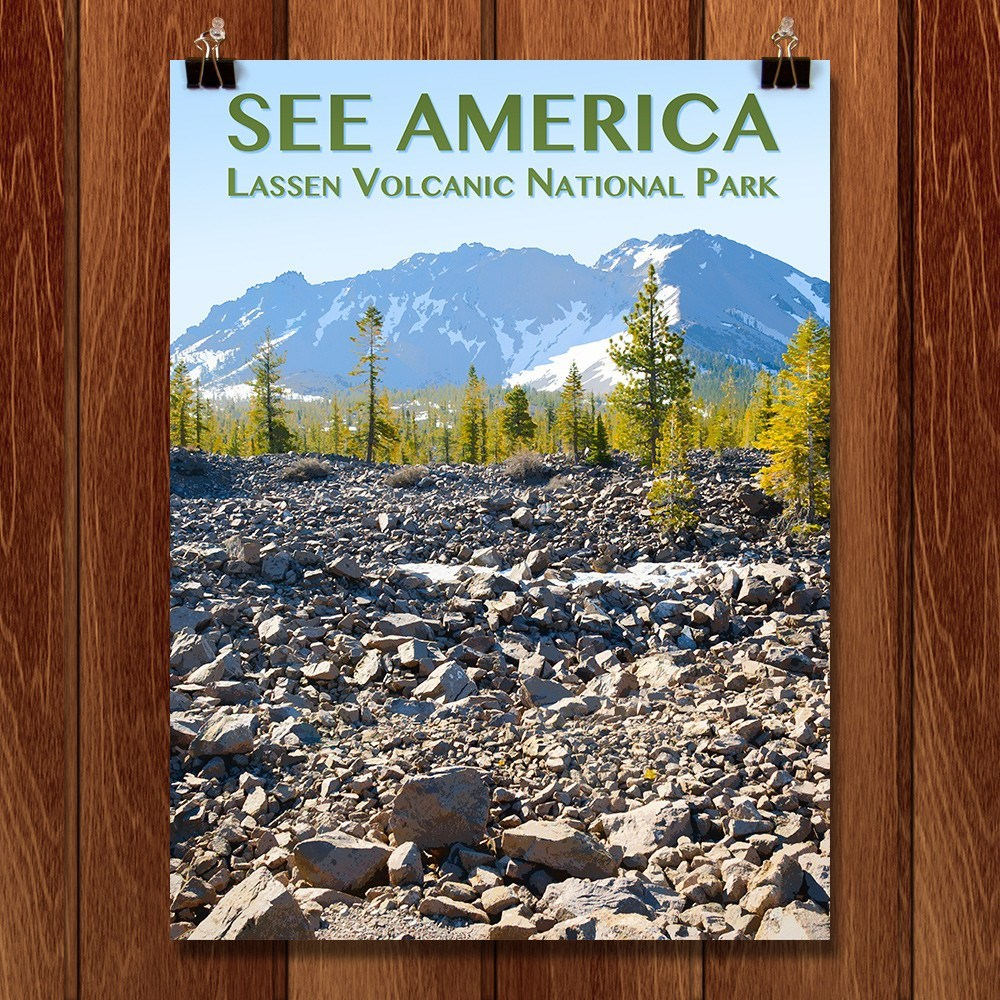 Lassen Volcanic National Park by Zack Frank for See America - 1