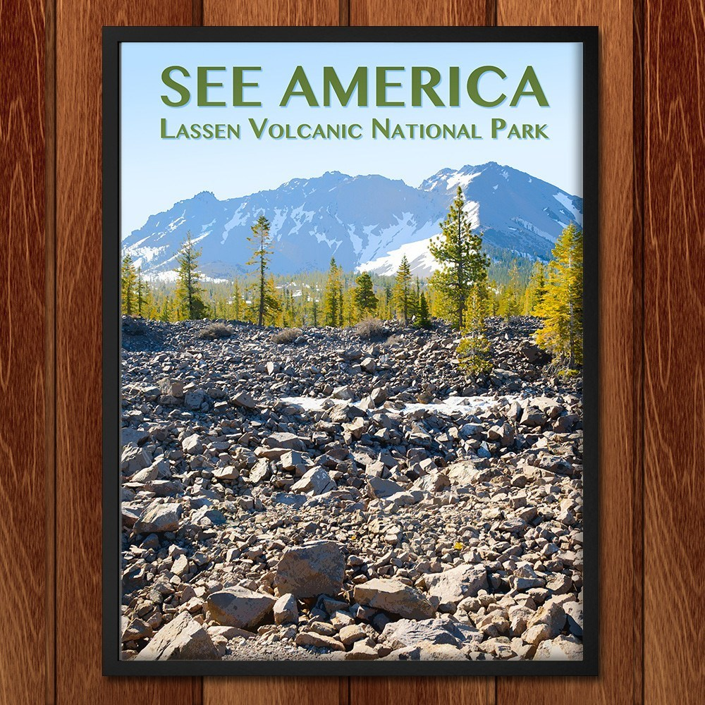 Lassen Volcanic National Park by Zack Frank for See America - 2