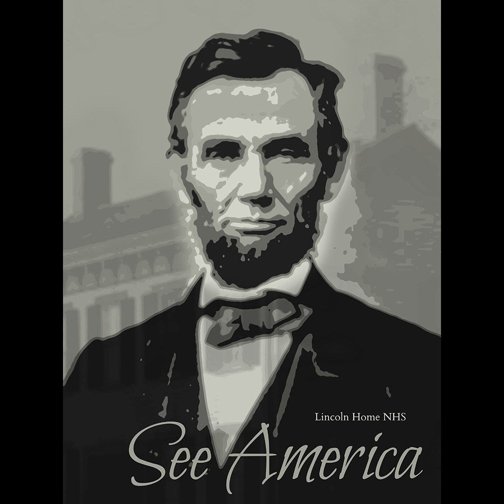 Lincoln Home National Historic Site by Rendall M. Seely for See America - 3