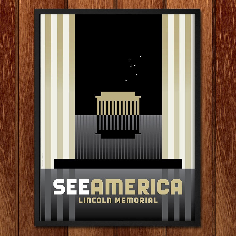 Lincoln Memorial by Luis Prado for See America - 2