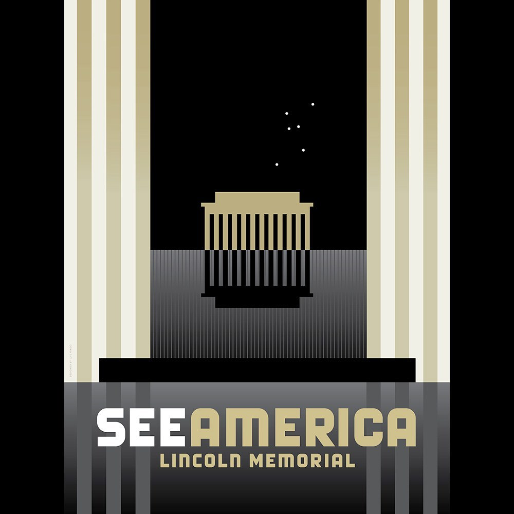 Lincoln Memorial by Luis Prado for See America - 3