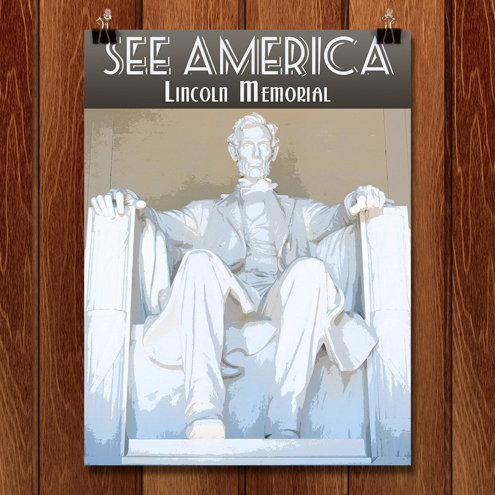Lincoln Memorial by Zack Frank for See America - 1