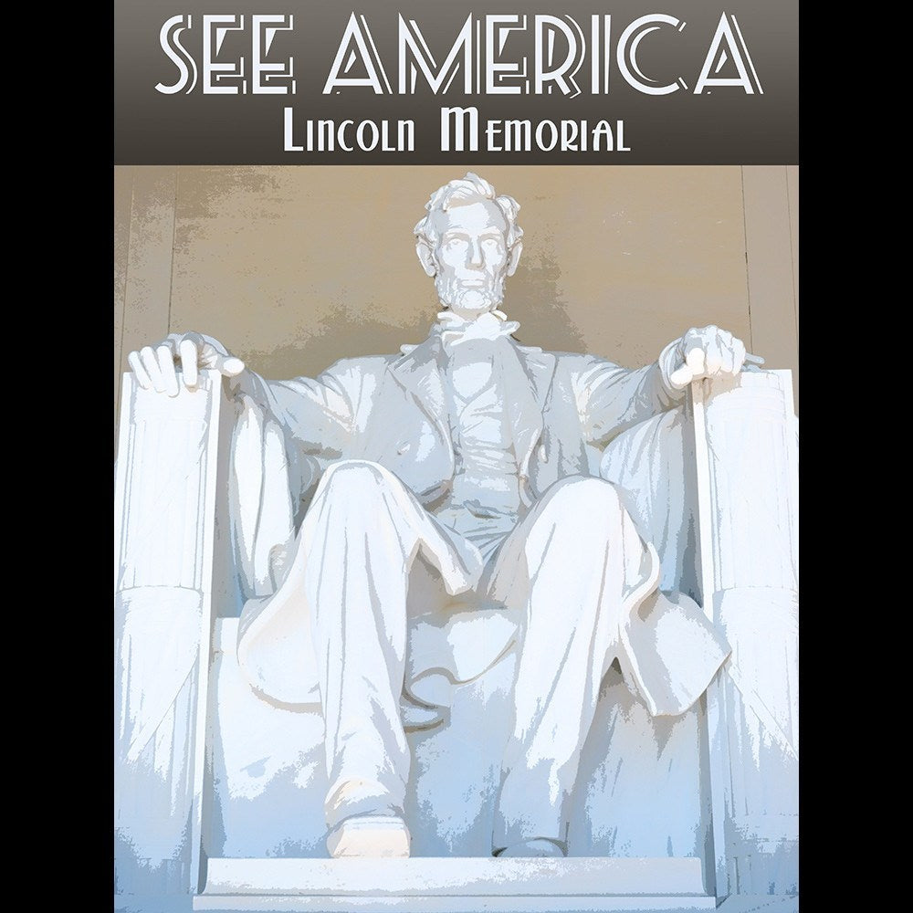 Lincoln Memorial by Zack Frank for See America - 3