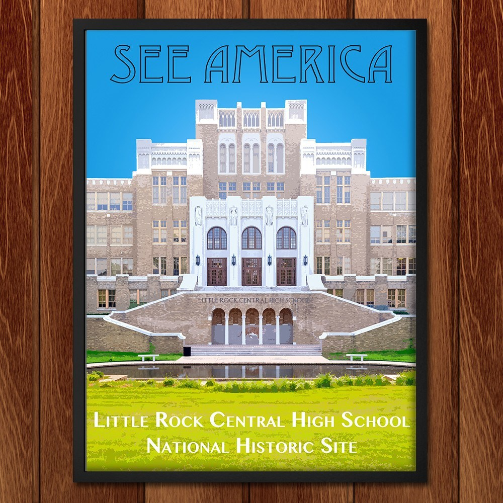 Little Rock Central High School National Historic Site by Zack Frank for See America - 2