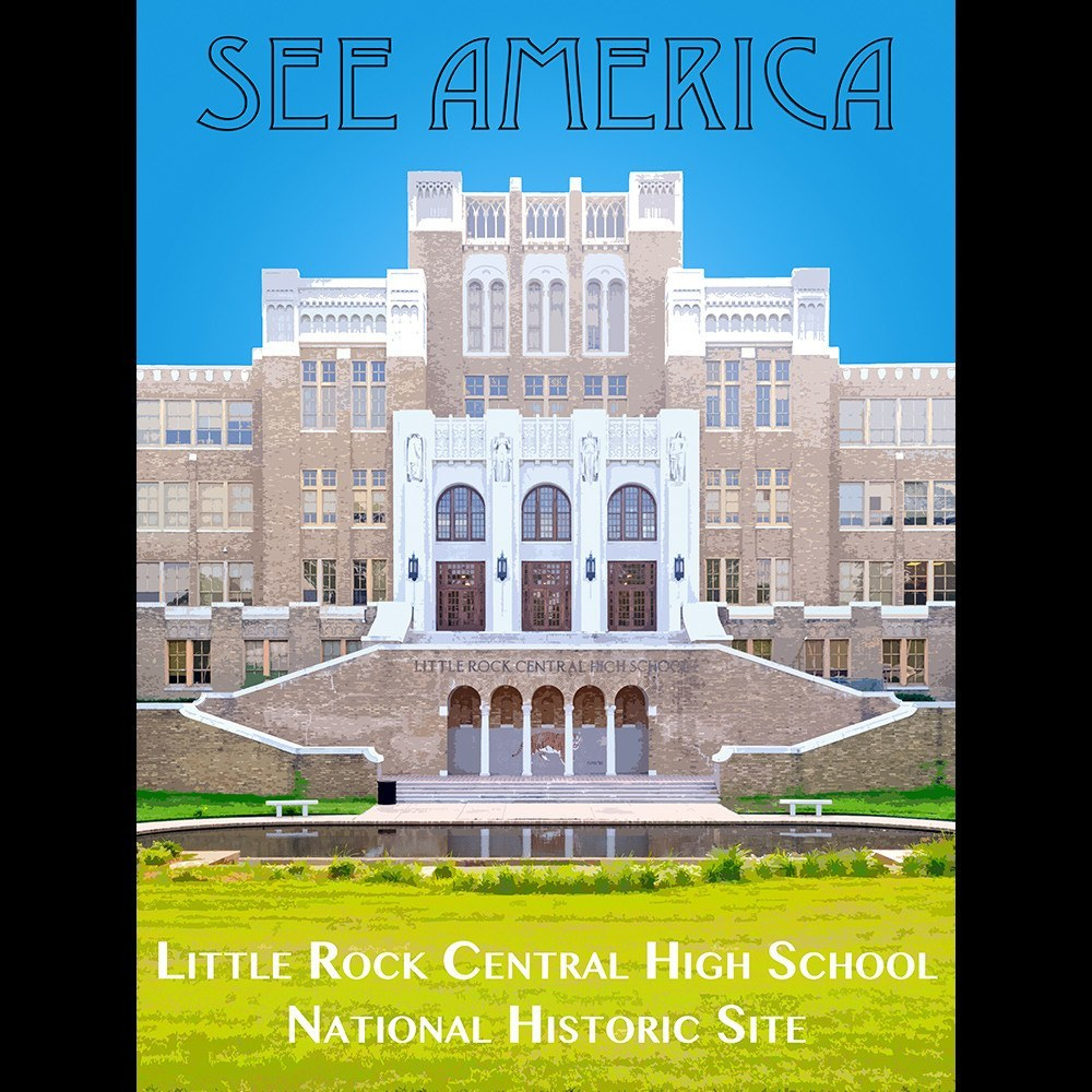 Little Rock Central High School National Historic Site by Zack Frank for See America - 3