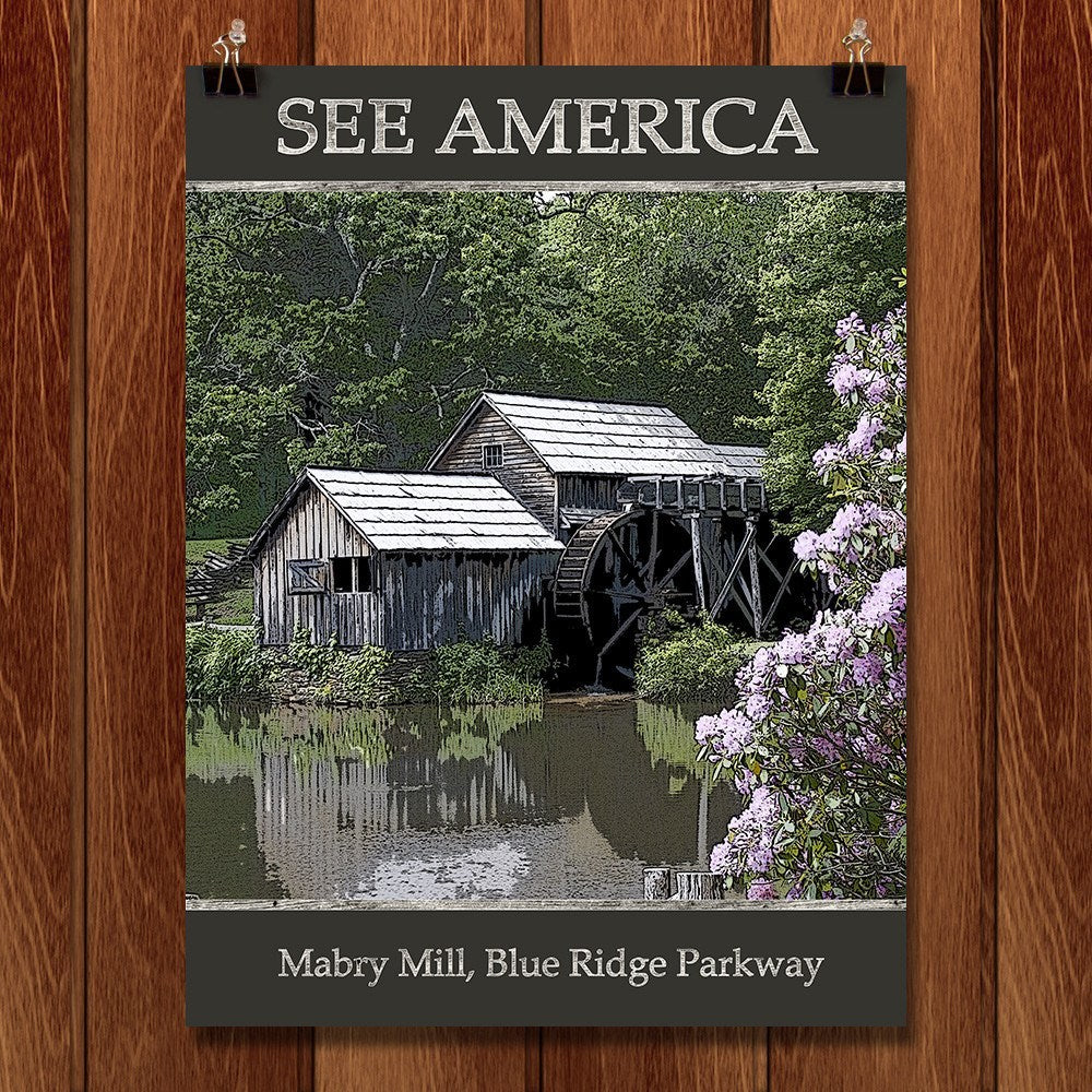 Mabry Bridge, Blue Ridge Parkway by Marcia Brandes for See America - 1