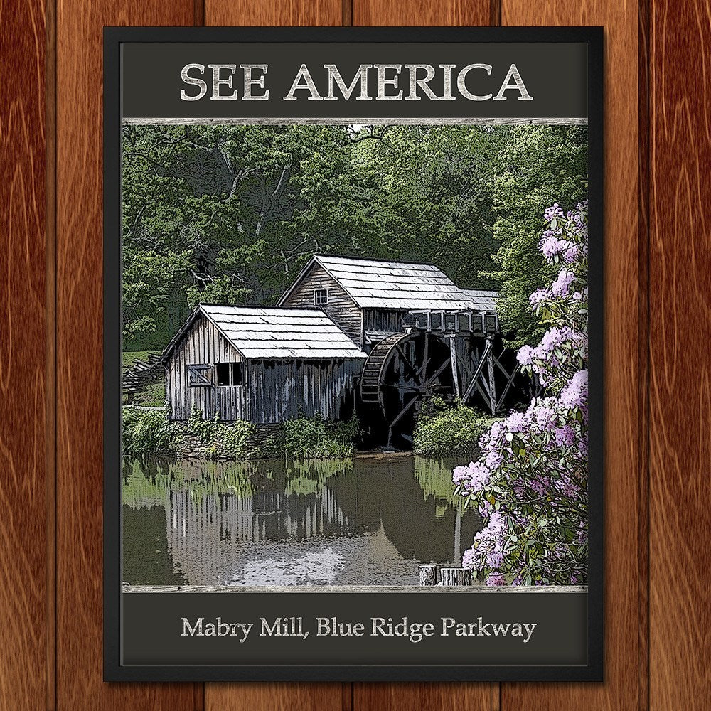 Mabry Bridge, Blue Ridge Parkway by Marcia Brandes for See America - 2
