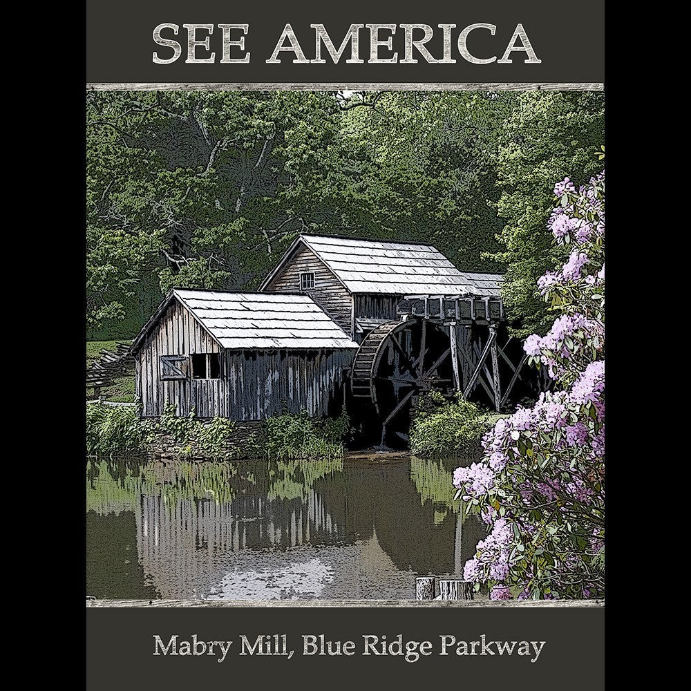 Mabry Bridge, Blue Ridge Parkway by Marcia Brandes for See America - 3