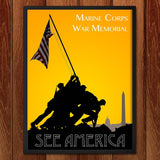Marine Corps War Memorial by Zack Frank for See America - 2