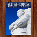 Martin Luther King, Jr. Memorial by Zack Frank for See America - 1