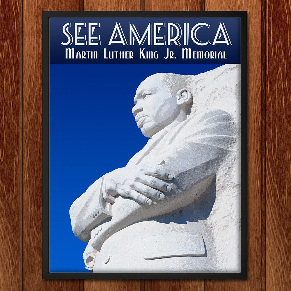 Martin Luther King, Jr. Memorial by Zack Frank for See America - 2