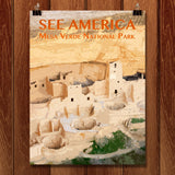 Mesa Verde National Park by Zack Frank for See America - 1