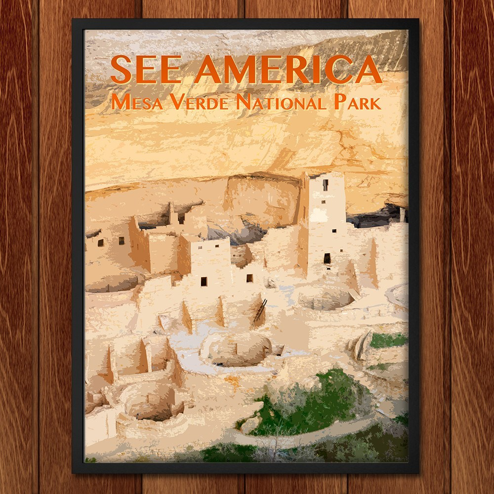Mesa Verde National Park by Zack Frank for See America - 2