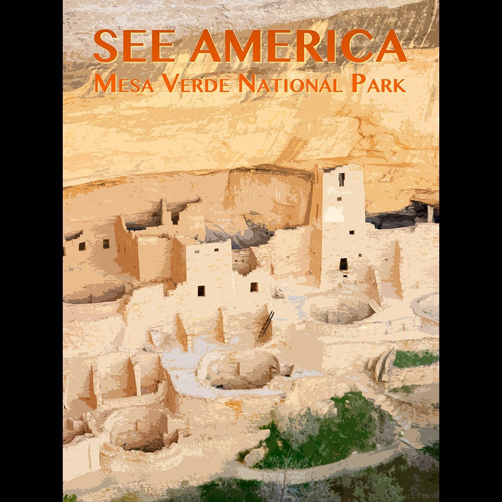 Mesa Verde National Park by Zack Frank for See America - 3