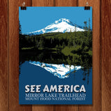 Mirror Lake Trailhead, Mount Hood National Forest by E. Michelle Peterson for See America - 1