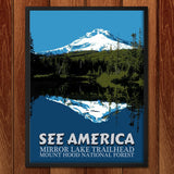 Mirror Lake Trailhead, Mount Hood National Forest by E. Michelle Peterson for See America - 2